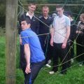 Team Building Rope Obstacle